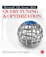 Cover of Microsoft SQL Server 2014 Query Tuning & Optimization