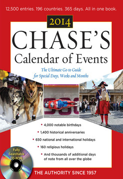 Chase's Calendar of Events 2014, 57th Edition