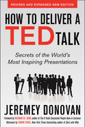 Cover of How to Deliver a TED Talk: Secrets of the World's Most Inspiring Presentations, revised and expanded new edition, with a foreword by Richard St. John and an afterword by Simon Sinek