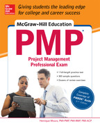Cover of McGraw-Hill Education PMP Project Management Professional Exam