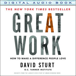Great Work: How to Make a Difference People Love (Audio Book)