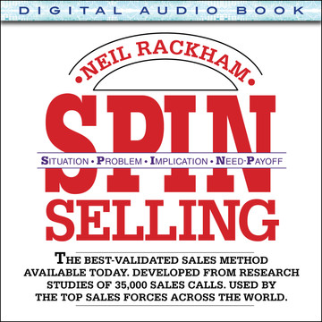 SPIN Selling (Audio Book)