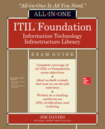 Cover of ITIL Foundation All-in-One Exam Guide