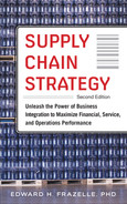 Cover of Supply Chain Strategy, Second Edition: Unleash the Power of Business Integration to Maximize Financial, Service, and Operations Performance, 2nd Edition
