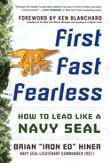 Cover of First, Fast, Fearless: How to Lead Like a Navy SEAL
