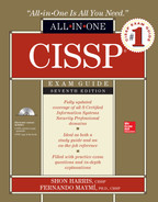 Cover of CISSP All-in-One Exam Guide, Seventh Edition, 7th Edition