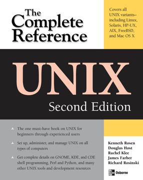 UNIX: The Complete Reference, Second Edition, 2nd Edition