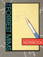 Book cover for Forrest Mims Engineer's Notebook