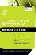 Cover of Digital Signal Processing: Instant Access