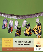 Cover of Reconfigurable Computing: The Theory and Practice of FPGA-Based Computation
