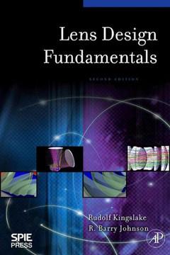 Lens Design Fundamentals, 2nd Edition