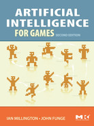 Cover of Artificial Intelligence for Games, 2nd Edition