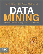 Book cover for Data Mining: Practical Machine Learning Tools and Techniques, 3rd Edition
