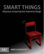 Book cover for Smart Things: Ubiquitous Computing User Experience Design