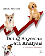Cover of Doing Bayesian Data Analysis