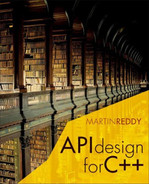 Cover of API Design for C++