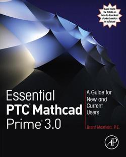Essential PTC® Mathcad Prime® 3.0