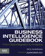 Book cover for Business Intelligence Guidebook