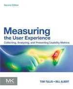 Cover of Measuring the User Experience, 2nd Edition