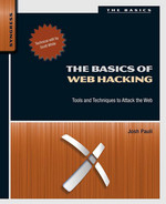 Cover of The Basics of Web Hacking