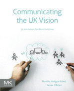 Cover of Communicating the UX Vision