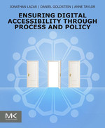 Cover of Ensuring Digital Accessibility through Process and Policy