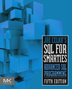 Cover of Joe Celko's SQL for Smarties, 5th Edition