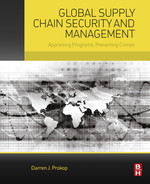 Cover of Global Supply Chain Security and Management