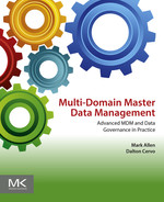 Cover of Multi-Domain Master Data Management