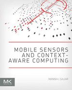 Cover of Mobile Sensors and Context-Aware Computing