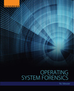 Cover of Operating System Forensics