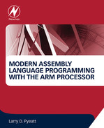 Cover of Modern Assembly Language Programming with the ARM Processor
