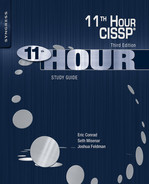 Cover of Eleventh Hour CISSP®, 3rd Edition