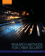 Cover of Research Methods for Cyber Security