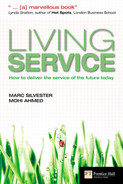 Book cover for Living Service: How to Deliver the Service of the Future Today