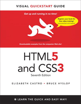 HTML5 and CSS3: Visual QuickStart Guide, Seventh Edition