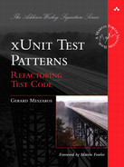 Cover of xUnit Test Patterns: Refactoring Test Code