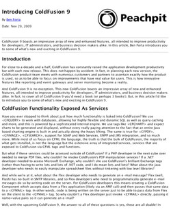 Introducing ColdFusion 9