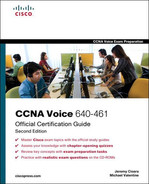 Cover of CCNA Voice 640-461 Official Cert Guide, Second Edition