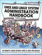 Cover of Unix® and Linux® System Administration Handbook, Fourth Edition