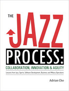 Cover of The Jazz Process: Collaboration, Innovation, and Agility