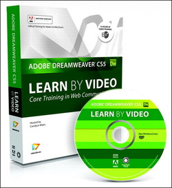Learn Adobe Dreamweaver CS5 by Video: Core Training in Web Communication