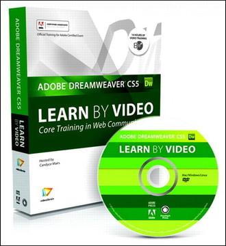 Learn Adobe Dreamweaver CS5 by Video: Core Training in Web Communication