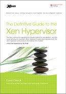 Cover of The Definitive Guide to the Xen Hypervisor