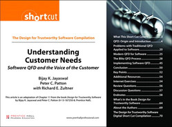 Cover of The Design for Trustworthy Software Compilation Understanding Customer Needs: Software QFD and the Voice of the Customer
