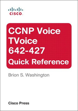 CCNP Voice TVoice 642-427 Quick Reference