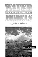 Cover of Water Management Models: A Guide to Software