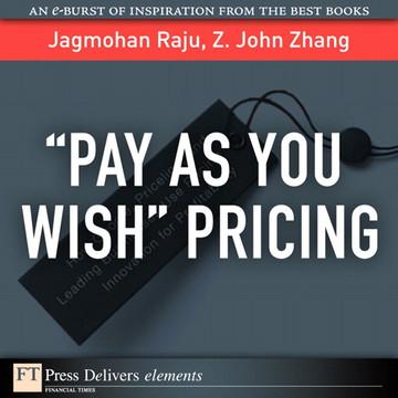"""""""Pay As You Wish"""" Pricing"""