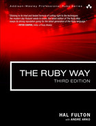 Book cover for The Ruby Way: Solutions and Techniques in Ruby Programming, Third Edition