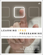 Cover of Learning iPad Programming: A Hands-On Guide to Building iPad Apps with iOS 5